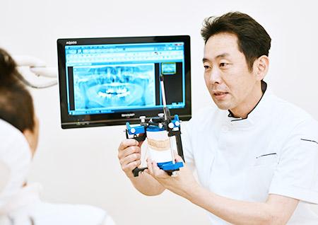 歯科医師に指導する、世界水準の咬合技術
